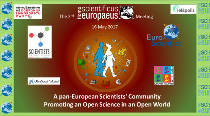 A pan-European Scientists' Community Promoting an Open Science in an Open World
